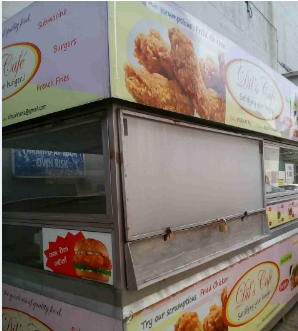 Mobile food store for sale